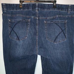 Lane Bryant tummy control bootcut Jeans SZ:28W